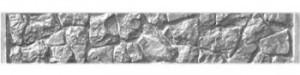 Секция еврозабора Бутовый камень