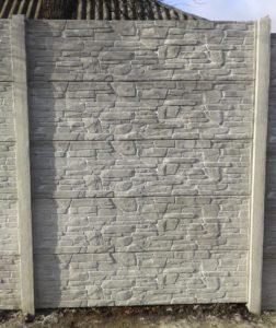 еврозабор в Харькове Карпатский камень